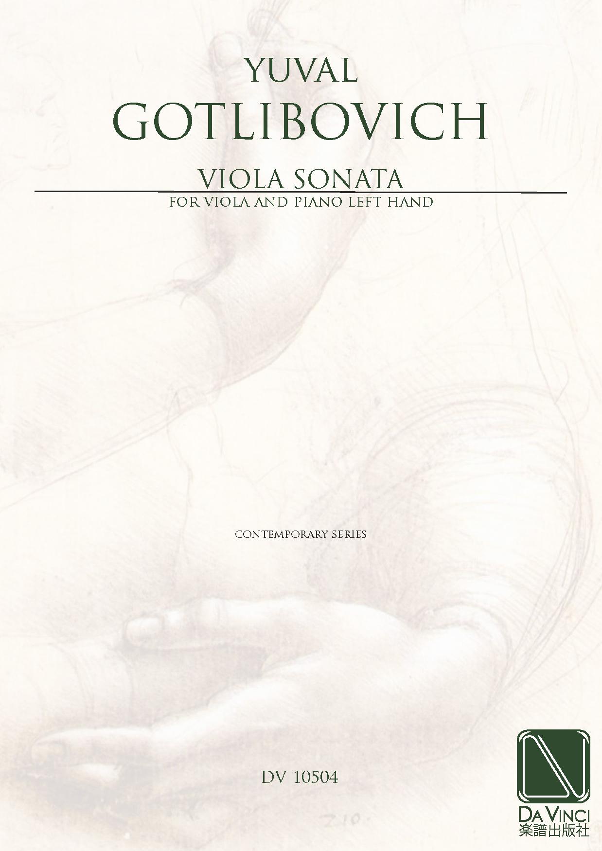 Gotlibovich Yuval Sonata For Viola And Piano With Parts Da Diagram